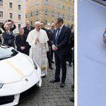 Papež dostal do daru upravené Lamborghini Huracán v hodnotě 183 000 €. To poputuje pod kladívko 43