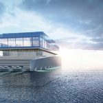 Mladý student designu navrhl neobyčejnou jachtu vytvořenou pro hudebního skladatele