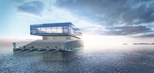 Mladý student designu navrhl neobyčejnou jachtu vytvořenou pro hudebního skladatele 1