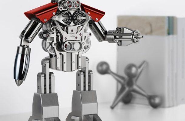 MB & F Melchior: stolní hodiny v podobě robota za 35.000 dolarů 1