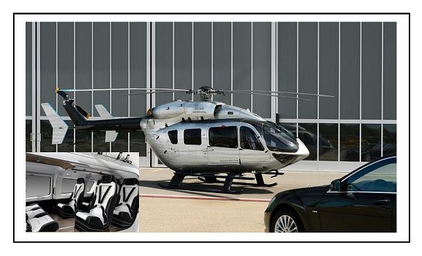 Mercedes Benz Style EC145: jediná helikoptéra ve své třídě s luxusním interiérem 1