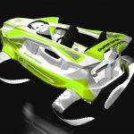 Elektrický, vodní skútr Quadrofoil: neuvěřitelně hladká jízda na vodě 3