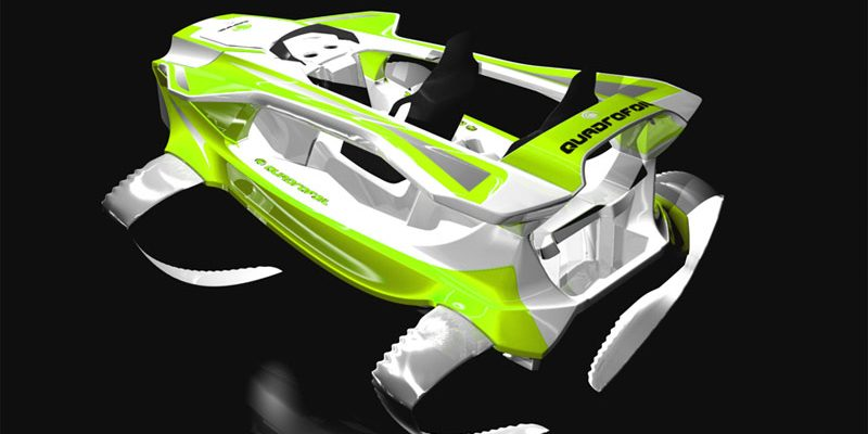 Elektrický, vodní skútr Quadrofoil: neuvěřitelně hladká jízda na vodě 1