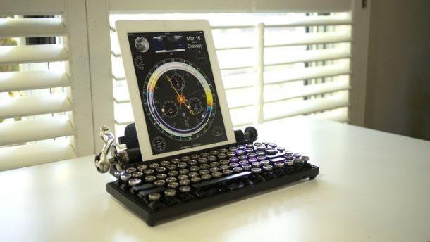 Qwerkywriter: mechanická klávesnice pro 21. století 1