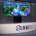Zakřivuje se na povel! 105-palcový SUHD TV Samsung jako první na světě