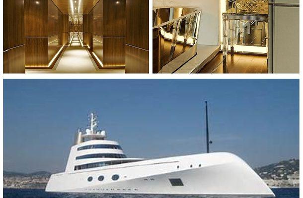 Takto vypadá interiér jachty za více než 300 milionů dolarů, která patří ruskému miliardáři 1