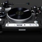 Futuristický gramofon se šarmem starého světa určený pro náročné