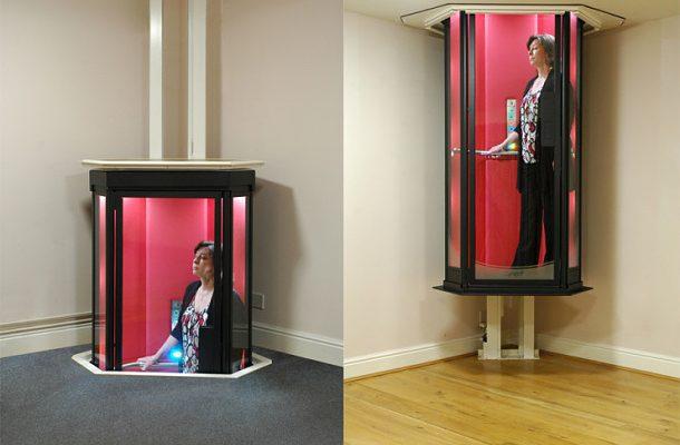 Zapomeňte na schody, přichází futuristický výtah jak ze Star Treku 1