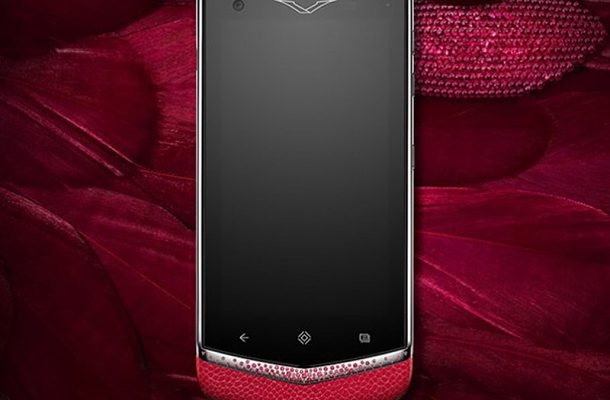 Vertu Constellation Gemstones: mobil hoden červeného koberce 1
