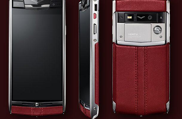 Vertu Signature Touch: luxusní smartfon pro náročné 1