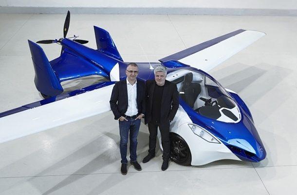 Luxus ve Slovenštině: aeromobil 3.0 představený 1