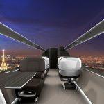 Konstruktéři z Francie představili letadlo budoucnosti. Bude bez oken, ale s panoramatickým výhledem 2