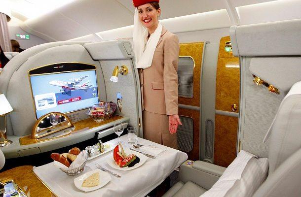Jak vypadá luxusní cestování arabských šejků aerolinkou Emirates? 1