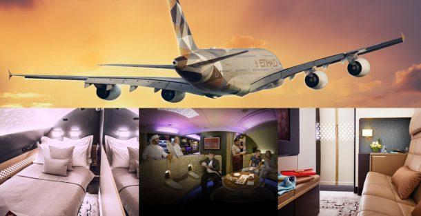 The Residence: létající apartmán Arabských areolinek Etihad 1