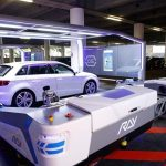 Robot na letišti v Düsseldorfu zaparkuje vaše auto za vás 7