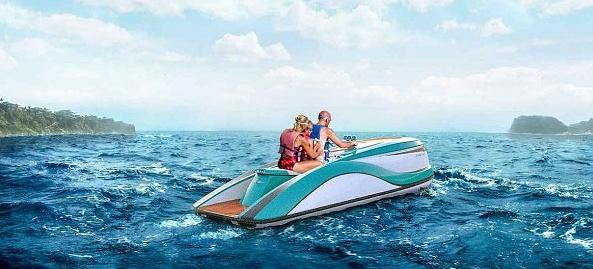 I vodní skútr s 300 motorem o výkonu 300 koní může být luxusní 1