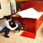 Nejbezpečnější postel na světě, která vás ochrání před katastrofou
