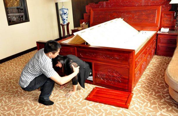Nejbezpečnější postel na světě, která vás ochrání před katastrofou 1