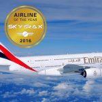 Společnost Skytrax vyjmenovala 10 nejlepších areolinií za rok 2016