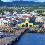 Ostrov Svatý Krištof s novým přístavem pro super jachty od roku 2017