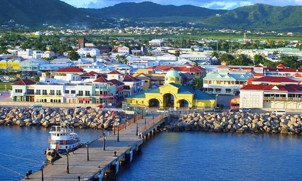 Ostrov Svatý Krištof s novým přístavem pro super jachty od roku 2017 1