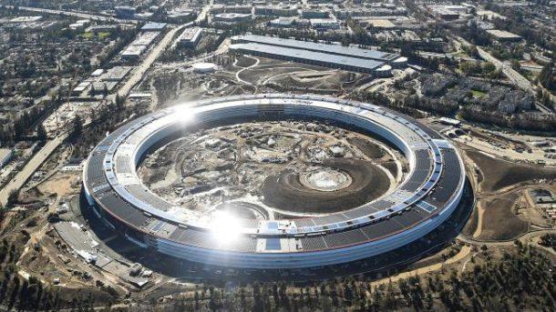 Apple Campus 2 - výstavba megasídla se blíží do svého finále 1