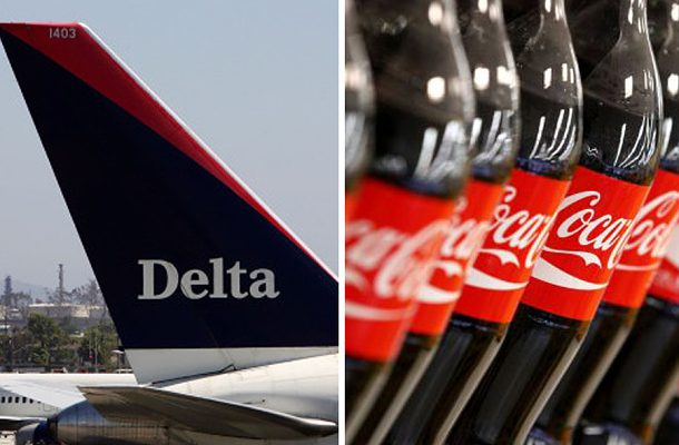 Umění ve výškách - společnost Delta Airlines a Coca-Cola vytvořili výjimečný projekt 1
