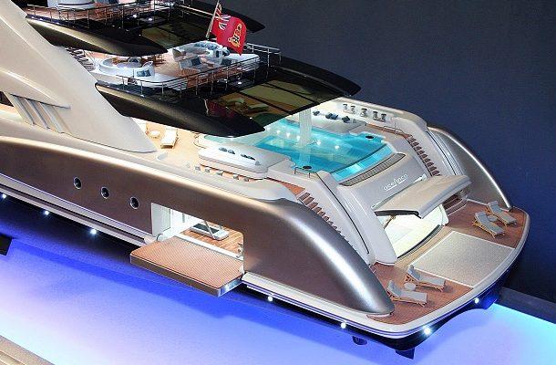 Oceanco odhalil novou 120 metrovou super jachtu Amara 1