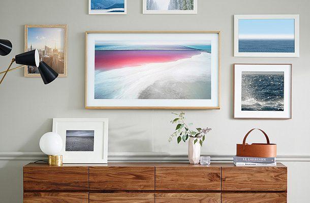 Umělecké dílo a televizní obrazovka v jednom? Samsung přináší unikátní model The Frame 1