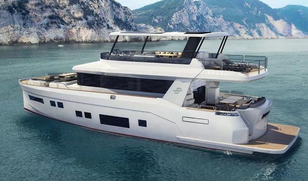 Sirena 64 je nová motorová jachta z Turecka 1