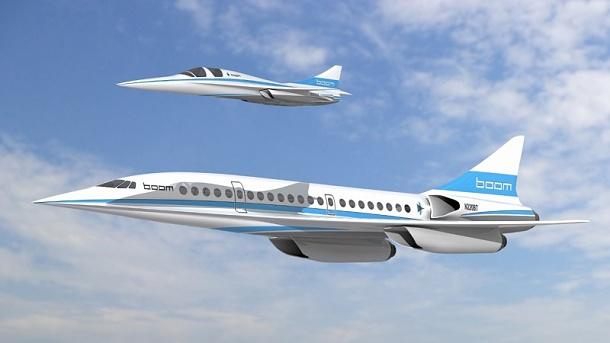 Americká společnost Boom pracuje na komerčním nadzvukovém letadle 1