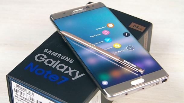 Samsung Galaxy Note 7: luxusní král produktivity se skenerem duhovky 1