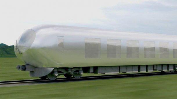 """Japonsko bude mít svůj """"neviditelný"""" vlak 1"""