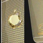 Nejdražší iPhone 6 na světě je vyrobený z 18-karátového zlata a má diamant ve tvaru loga Apple 6
