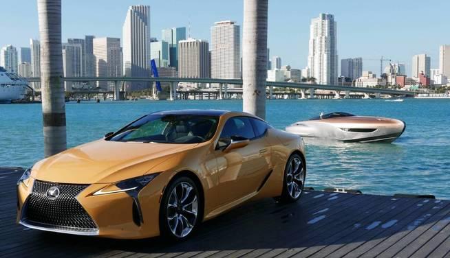 Lexus představil úžasný koncept sportovní jachty 1