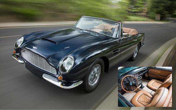 Vzácný model Aston Martin Short-Chassis Volante během dražby překonal očekávání 1