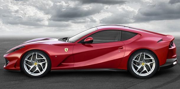 Ferrari 812 Superfast: nejvýkonnější sériově vyráběné Ferrari 1