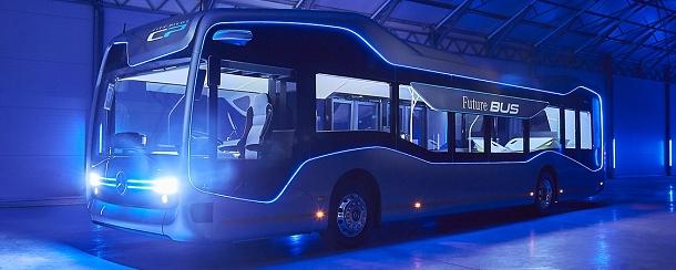 Autobus budoucnosti se začátkem týdne projížděl ulicemi Amsterdamu 1