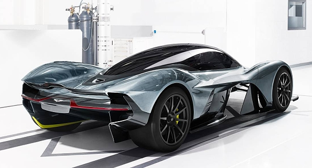 Aston Martin a Red Bull Racing vyvíjí novodobý hyper-car 1
