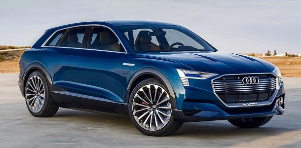 Audi E-Tron Quattro Concept: elktrické SUV bez kompromisů 1
