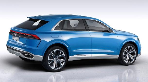 Audi Q8 je novým prémiovým SUV, které se dotne v roce 2018 1