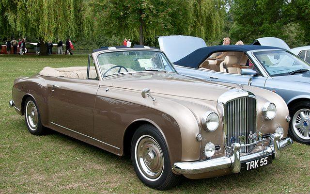 Vzácný model Bentley S1 Continental je snem každého sběratele luxusních veteránů 1