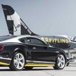 Limitovaná edice Bentley Continental GT Speed v úpravě Breitling Jet Team
