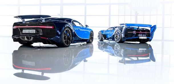 Bugatti prodalo první Chiron včetně jedinečného konceptu Vision Gran Turismo. Z té ceny se vám zatočí hlava! 1