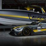 Mercedes AMG a Cigarette Racing Team ve své šesté vzájemné spolupráci ignorují gravitaci 5