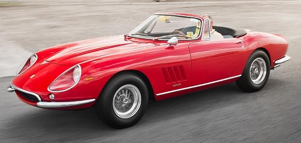 Jedinečné Ferrari 275 Nart Spider jde do aukce 1