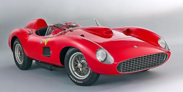 Ferrari 335 Spider S Scaglietti - toto nádherné Ferrari se má stát nejdražším na světě 1