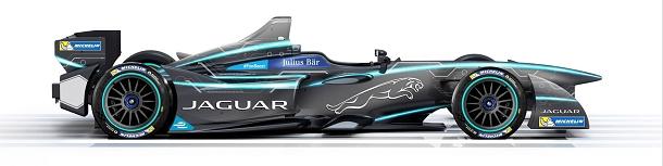 Jaguar odhaluje nové závodní vozidlo - Formule E 1