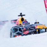 Dokonalé kousky nejmladšího pilota F1 v zasněženém Rakouském Kitzbühelu
