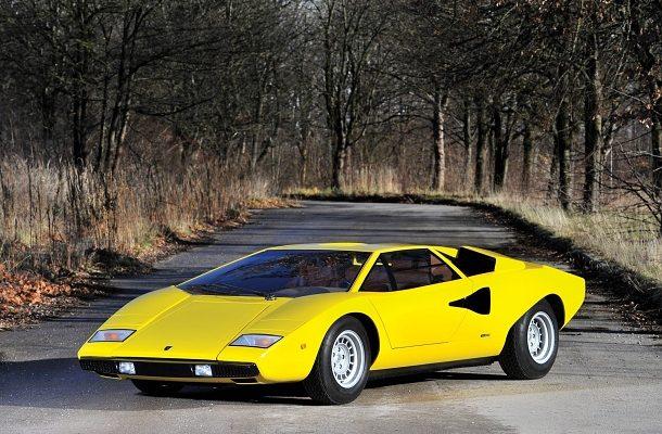 Lamborghini Countach: jeden z prvních sportovních automobilů v dražbě získal nového majitele 1